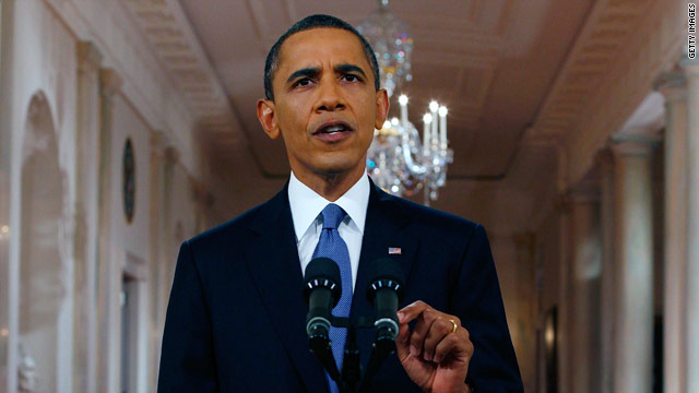 Obama to announce summer 2012 U.S. force withdrawal from Afghanistan