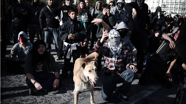 Since 2008, Greek rioters have had a canine companion named Loukanikos