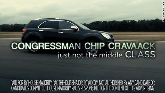 Another ad attack against Cravaack