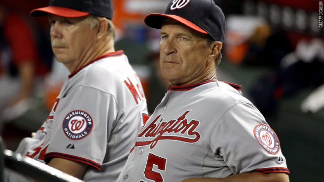 Washington Nationals&#039; Riggleman out as manager