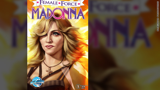 Madonna comic book coming in August