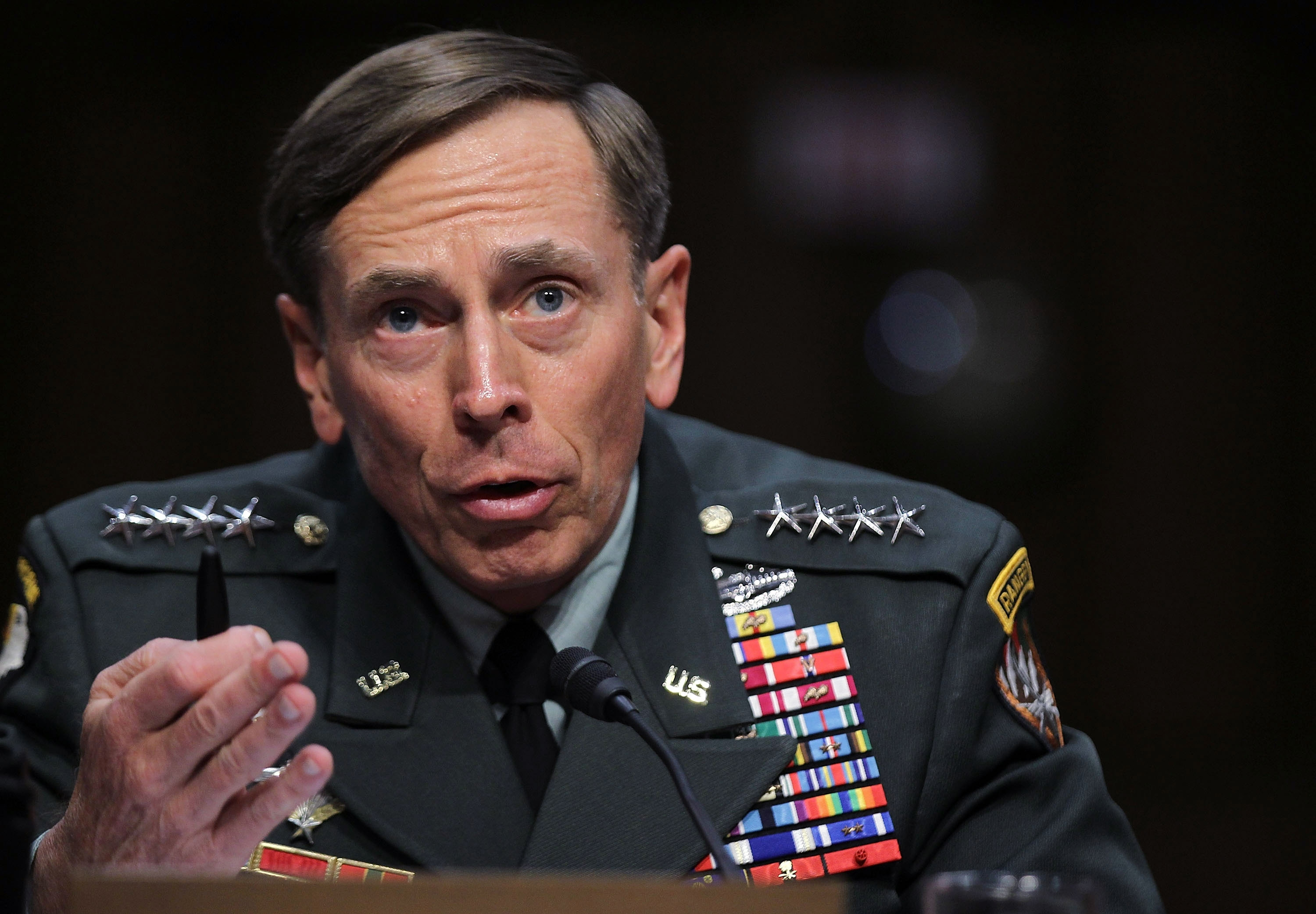 "Petraeus: ""..at the end of the day, this is not about me"""