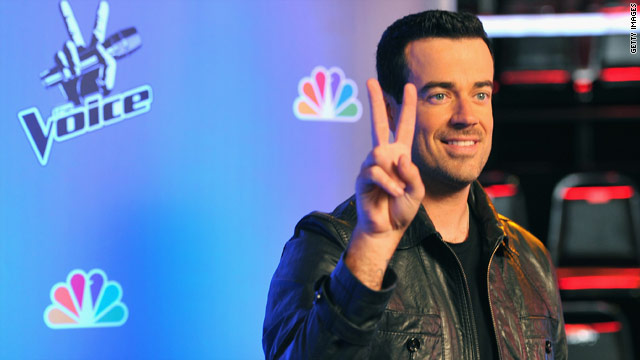 'The Voice' has invaded Carson Daly's dreams