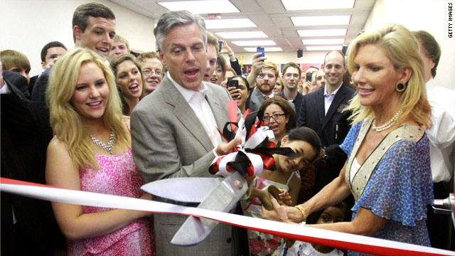 Huntsman opens Florida campaign office