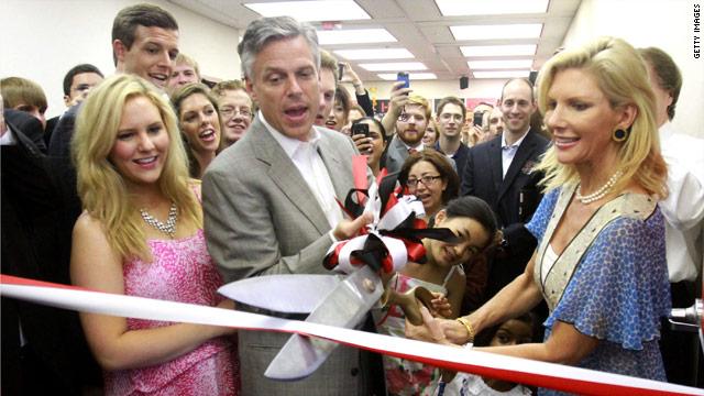 Huntsman opens Florida campaign office