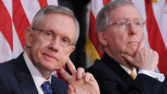 Obama and Biden to powwow with Reid and McConnell on debt talks