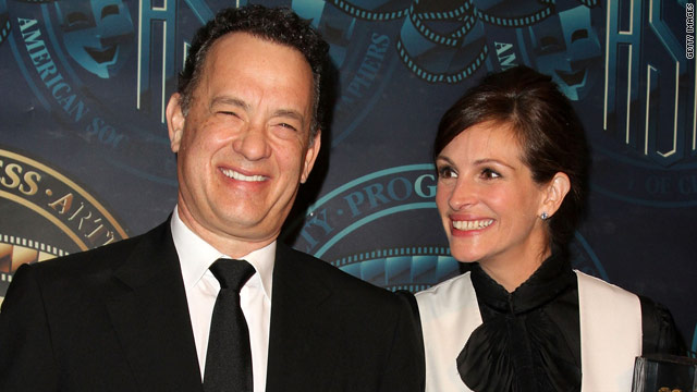 Tom Hanks wrote 'Crowne' role just for Julia Roberts
