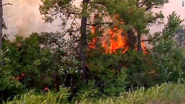 Emergency declared in North Carolina as wildfires rage