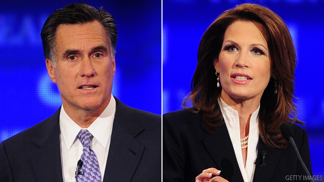 Poll: Good news for Romney, Bachmann in Iowa