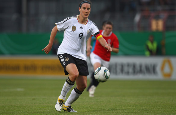 Birgit Prinz's goals could fire host-nation Germany to World Cup glory.