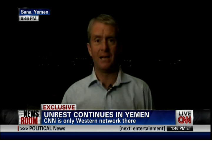 CNN is only US network in Yemen