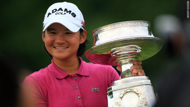 Yani Tseng, la golfista más joven que logra cuatro Grand Slam