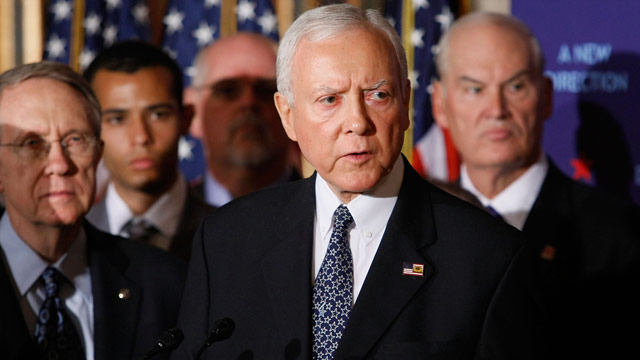 Hatch showdown? Tea party activists knock on GOP's door, literally