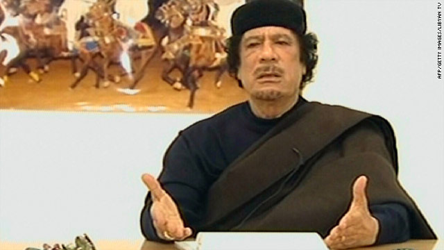 International Criminal Court issues Gadhafi arrest warrant