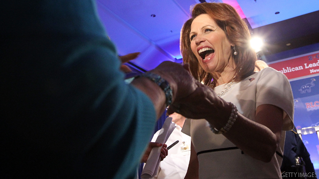 3rd straight Iowa poll has Bachmann at top