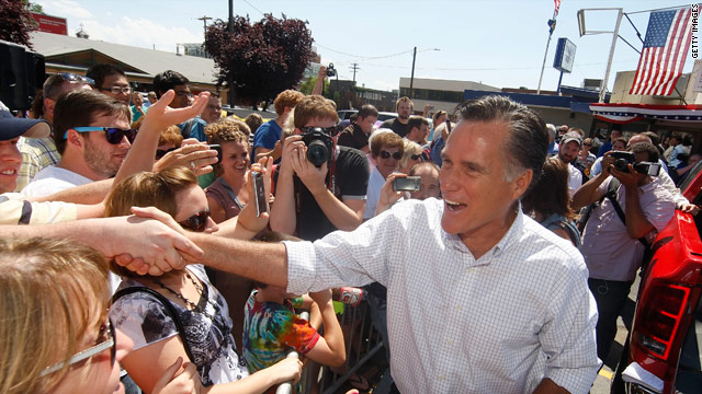 Romney downplays money expectations and praises Bachmann