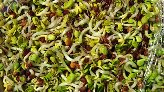 More people sickened by contaminated sprouts