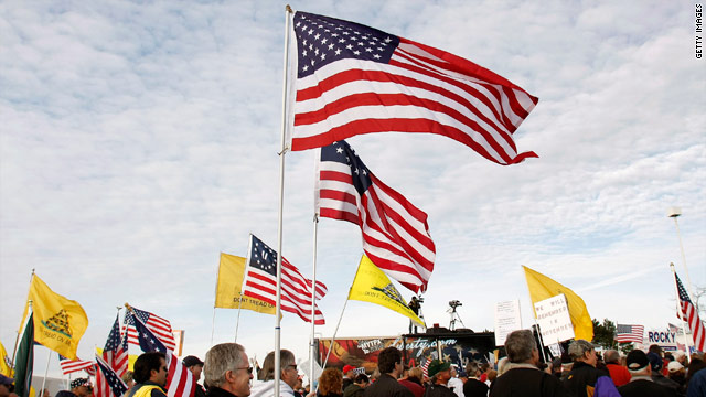 Top tea party group celebrates five years