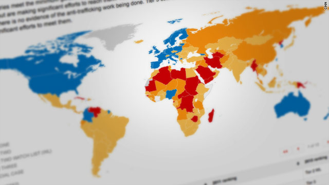 Slavery report names weak link nations