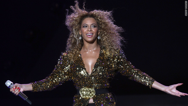 Beyonce: Glastonbury a dream come true