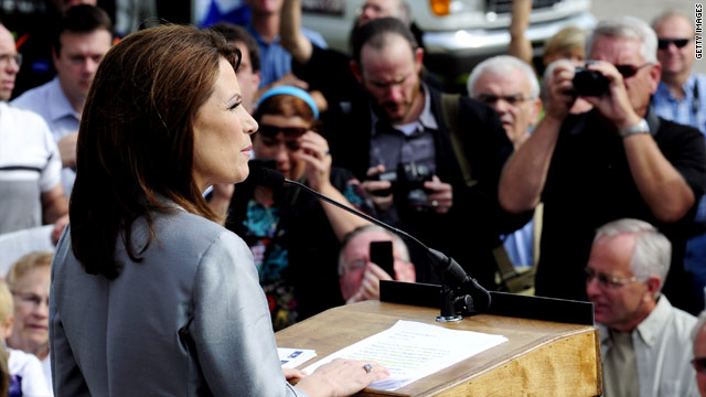 Bachmann draws big crowd in South Carolina debut