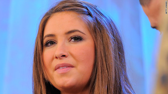 Bristol Palin says mom has made presidential decision