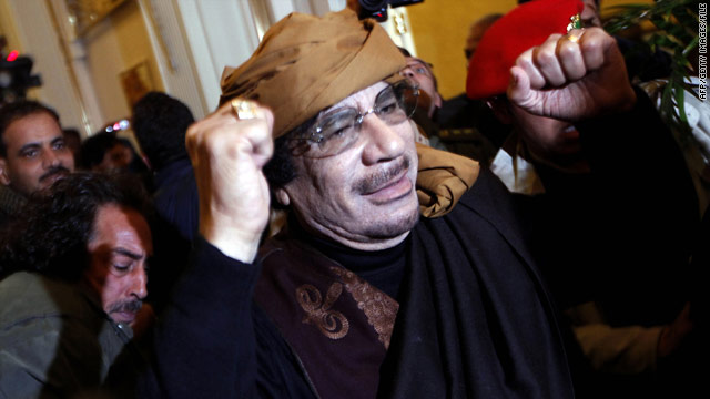 Gadhafi could face rape charges, prosecutor says