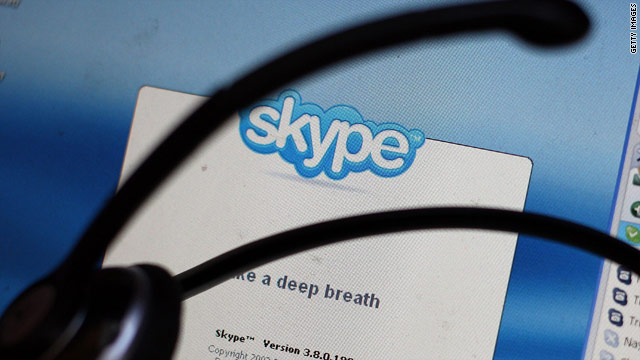 Your representative can now Skype you