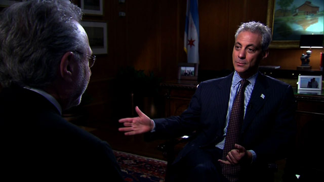 BLITZERS BLOG: Sitting down with Rahm Emanuel and Bill Clinton in Chicago