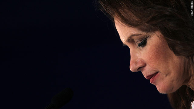 Bachmann reveals 'devastating' miscarriage