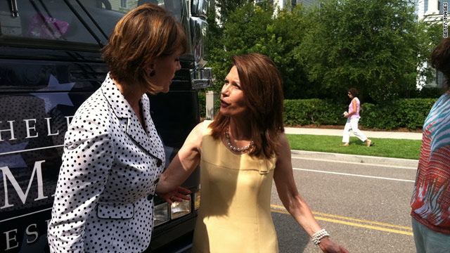 Bachmann: Media wants a &#039;mud wrestling fight&#039; with Palin
