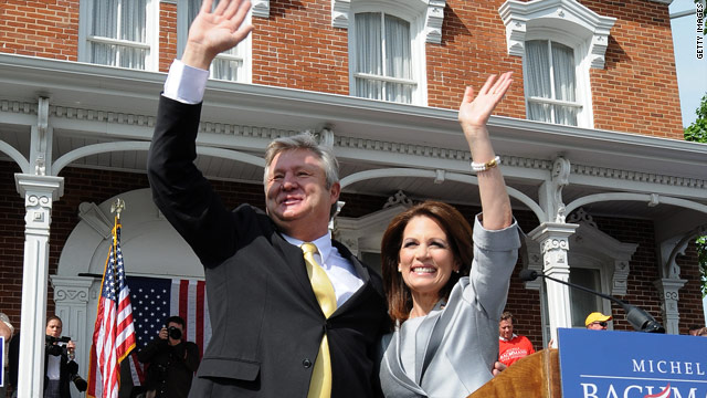 In week one, Bachmann hits the ground running