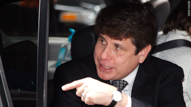 Airline ad pokes fun at Blagojevich