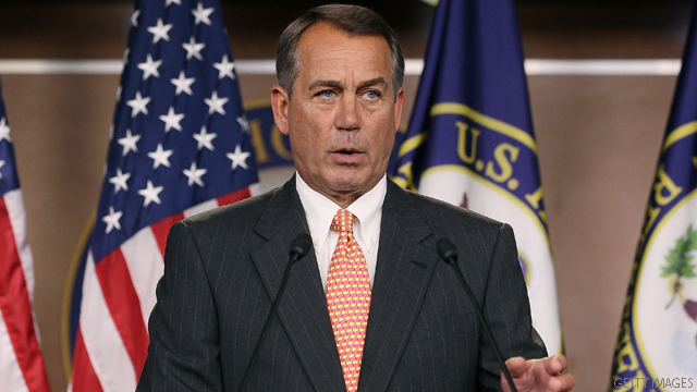 Boehner: Obama is &#039;sorely mistaken&#039;