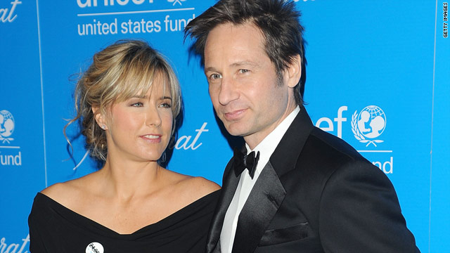Tea Leoni and David Duchovny split