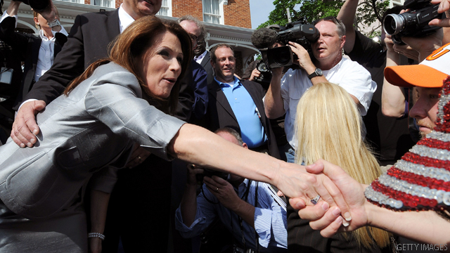 Bachmann makes a big jump