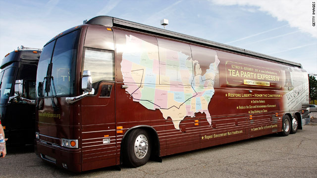 Tea Party Express announces 5th cross-country bus tour