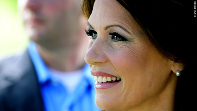 Has Bachmann replaced Palin in the Tea Party's heart?