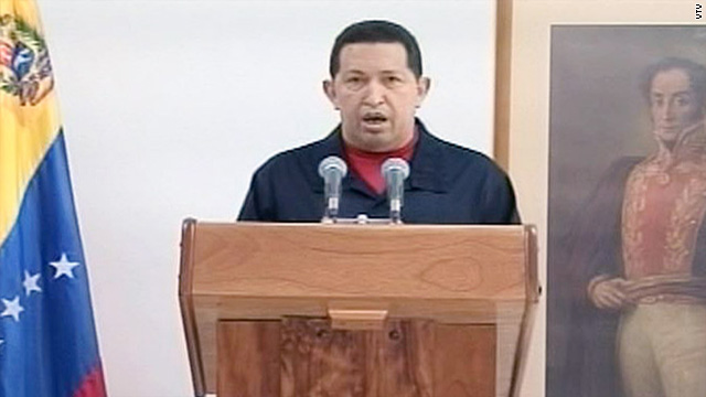 Chavez says doctors removed cancerous tumor from his body