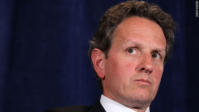 Geithner plays attack dog