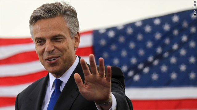 Huntsman digs deep into his own pockets