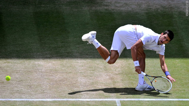 Djokovic reaches Wimbledon men's final