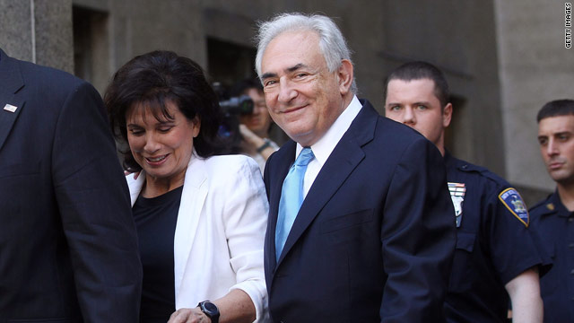 Judge releases former IMF chief from custody