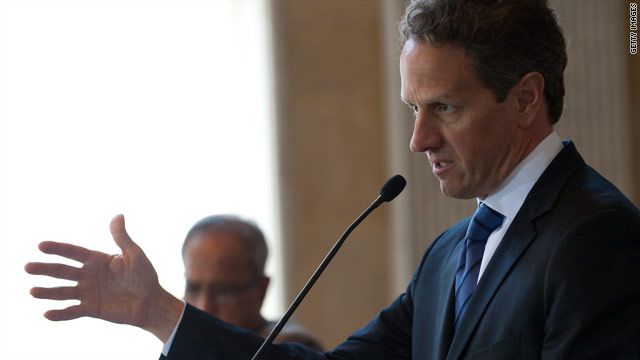 Who would follow Geithner?