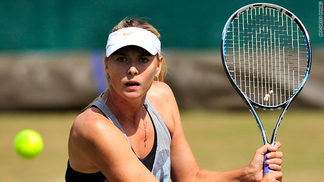 Sharapova vs. Kvitova in women's final at Wimbledon