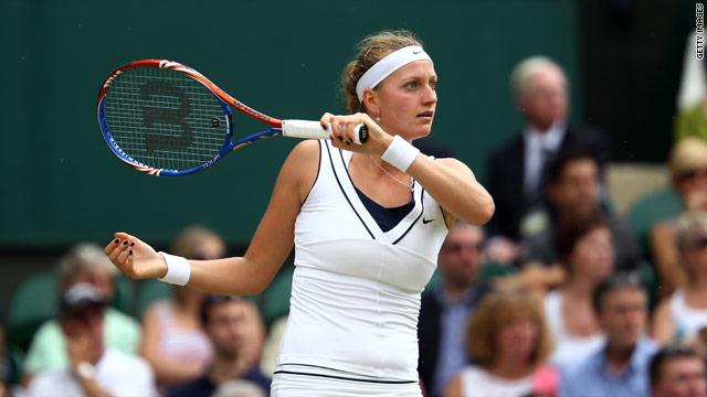 Kvitova takes Wimbledon title