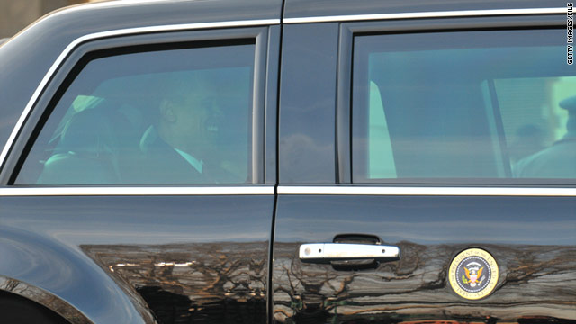 Cop tracks down presidential limo's seal