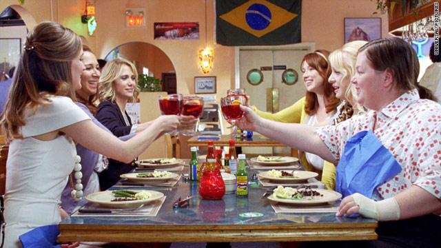 'Bridesmaids' becomes top R-rated female comedy