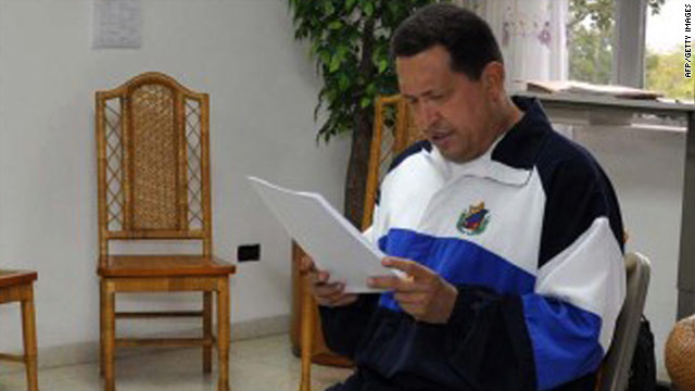 State TV: President Hugo Chavez returns to Venezuela