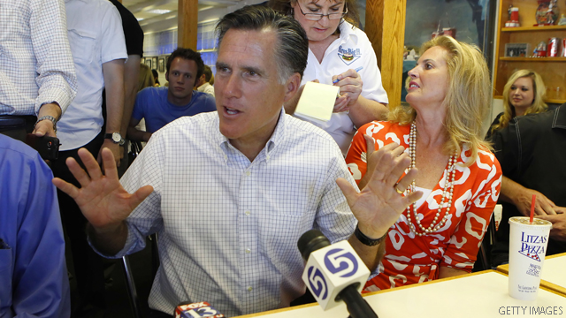 Romney sticks to Obama criticism, despite naysayers